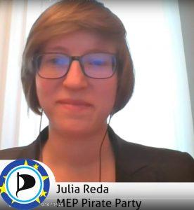 Member of the European Parliament – Julia Reda – EP2019 – European
